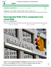 Downgrade! Only 3 U.S. companies now rated AAA.pdf