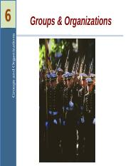Chapter6Organizations.ppt