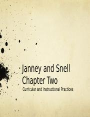 Janney and Snell Chapter Two.Inclusive Classrooms  (1)