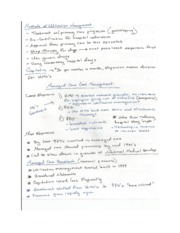 HSMG 3240 Notes 10