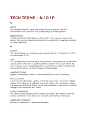 Tech Terms - N, O, and P