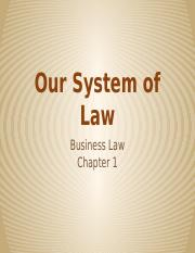 Our System of Law.pptx