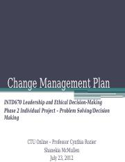 Change Management Principles Phase 2 IP - INDT670.pptx