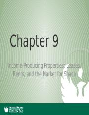 Real Estate Principals Chapter 9