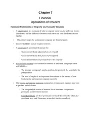 Financial operations notes from powerpoint