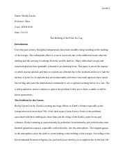 Research Paper World History