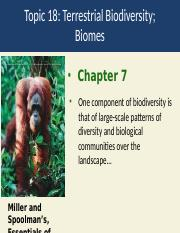 Topic 18 Terrestrial biomes.ppt