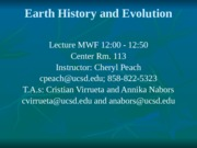 Lecture 1, Sept. 25th Introduction