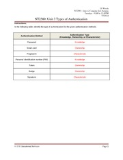 NT2580 Unit 3 - Worksheet 1