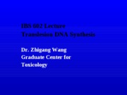 IBS602-Wang Lecture