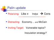 palin and nader update
