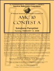2008-AMC10-Asolutions