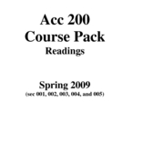 acc readings course pack