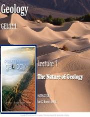 Chapter 1 - The Nature of Geology(1)