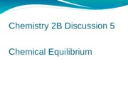 Chem 2B discussion 5