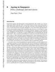 2009 Chan - Ageing in Singapore_Policy challenges & innovations.pdf.pdf