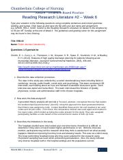 nr439 rrl2 form Reading research literature – week 5  download nr439_rrl_form and type answers to the questions directly onto the form.
