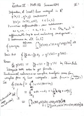 Math132Summer2014Lecture IV