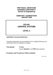 EG243 Control Systems 08 paper
