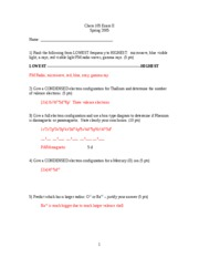 Exam 2 SPRING 2005 ANSWERS updated