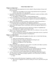 Audit -  Gleim Study Guide for Test 3