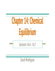 Sarah Rodriguez Chapter 14- Chemical Equilibrium- 14.4-14.7 (1).pptx