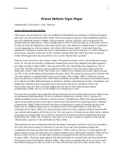 2011-2012 Prison Reform Topic Paper.doc