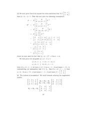 Linear Algebra Solutions 24