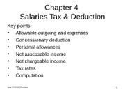 File 04A ppt Chapter 04 - salaries tax (deduction)