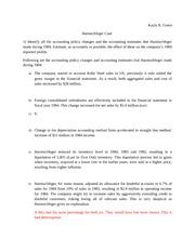 Purpose regarding Fund & Data processing Condition Examine Suggestion Memo