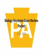 biology keystone exam review power point 10-10-12