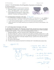Class Notes - B Cell Activation