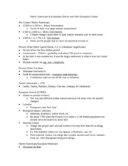 Hist 3071 Test 1 Notes