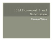 Homework 01 - Submission
