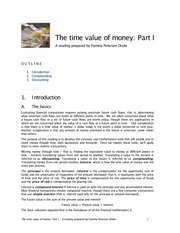 Time Value of Money -tvm-Extra Reading Materials