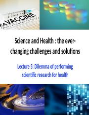 L5 Dilemma of performing scientific research for health (part 2) updated.pptx