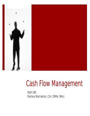 2017-02-27 NLM 380 Cash Flow Budgeting