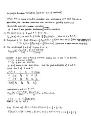 Statistics for Engineers-Bivariate Lecture-Chapter 2.6