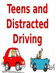 Teens and Distracted Driving Slideshow