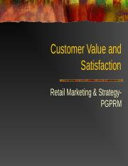 Customer+Value+and+Satisfaction