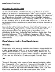 Just in Time (JIT) Manufacturing Research Paper Starter - eNotes.pdf