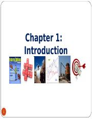 Chapter_1_Intro to Derivative Markets