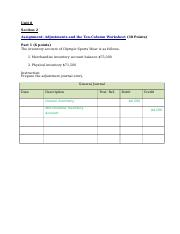 Adjustments and the Ten-Column Worksheet.docx