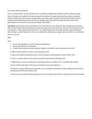 Case report form definition in interior