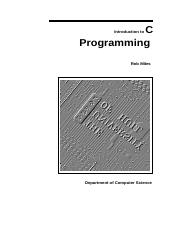 Intro to Computer Programming Using C Programming Tutorial.docx