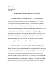 Film Analysis Paper Final Revision