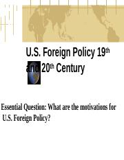 US Foreign Policy_introduction.ppt