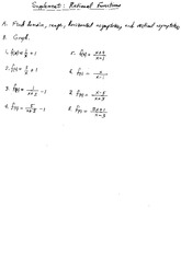 m20 supplment rational functions