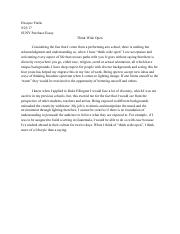 Suny purchase college essay