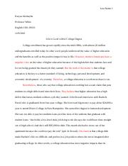 Research Argument Essay (1)